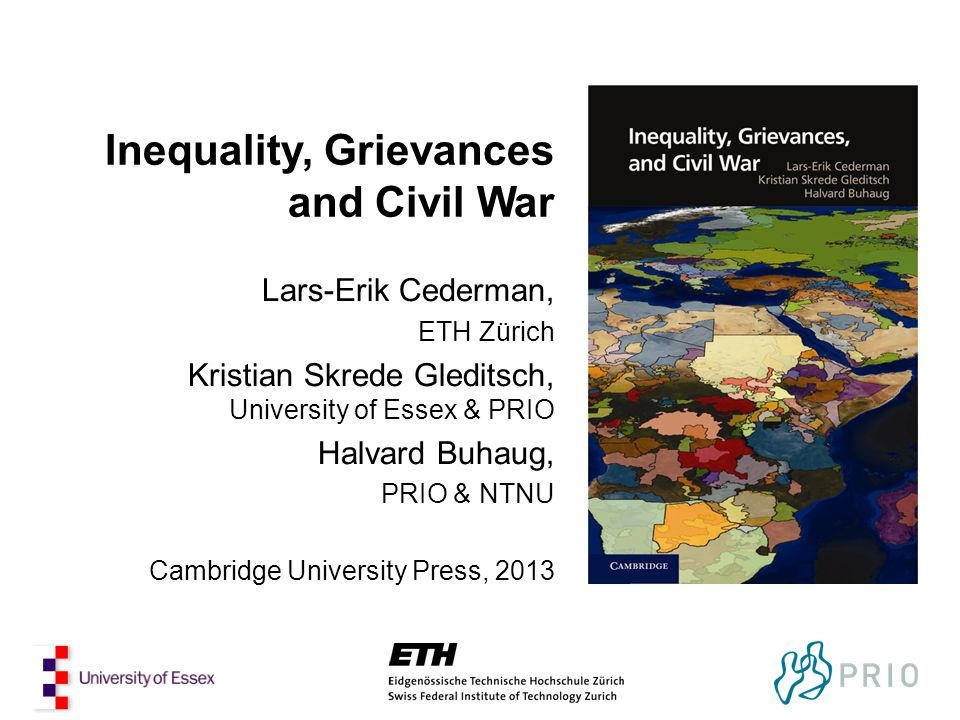 Inequality, Grievances and Civil War