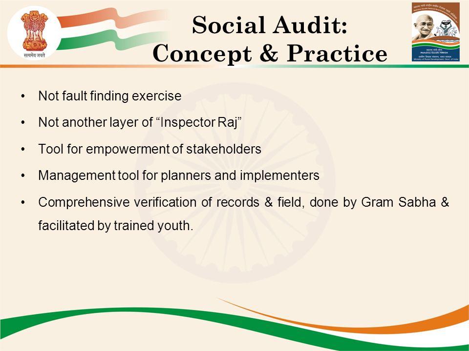 Social Audit: Concept & Practice
