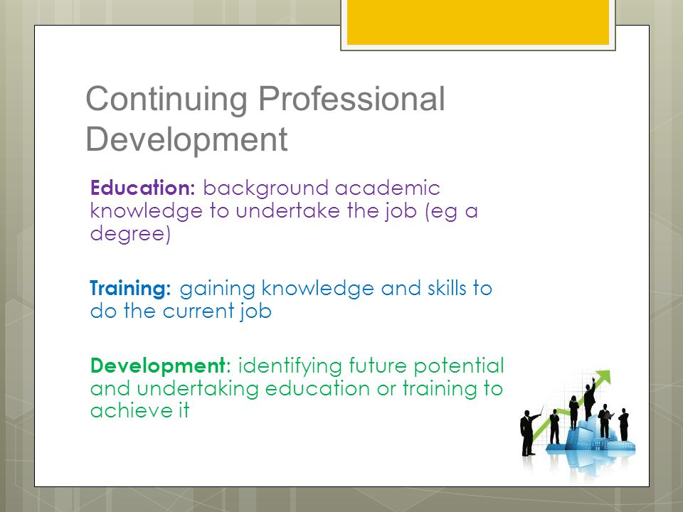 PROFESSIONAL KNOWLEDGE AND ABILITIES AFFECT CAREER