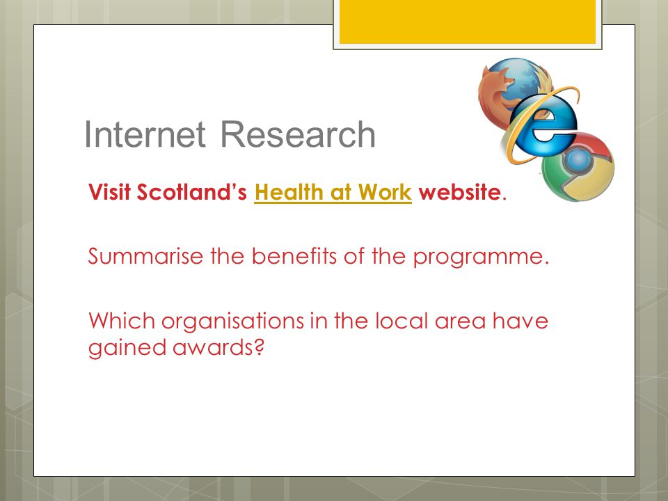 Internet Research