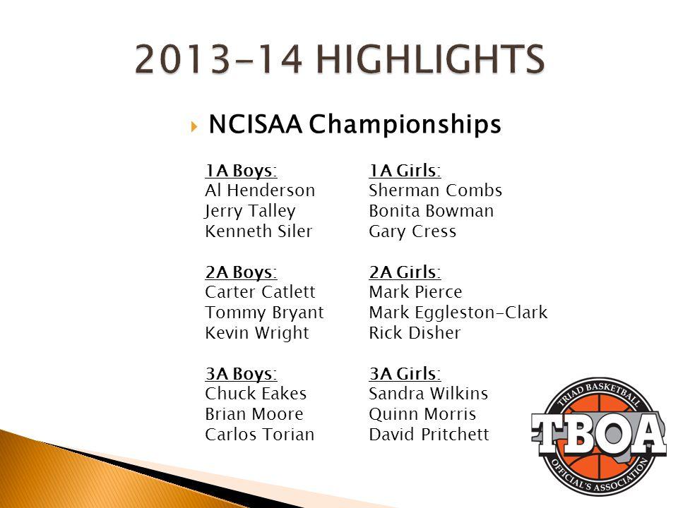 2013-14 HIGHLIGHTS NCISAA Championships 1A Boys: Al Henderson