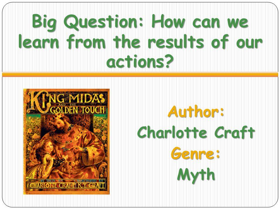 Author: Charlotte Craft Genre: Myth