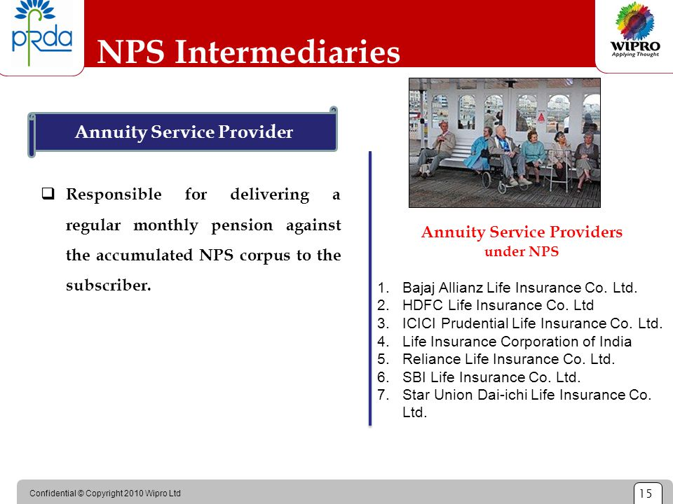 Annuity Service Provider Annuity Service Providers