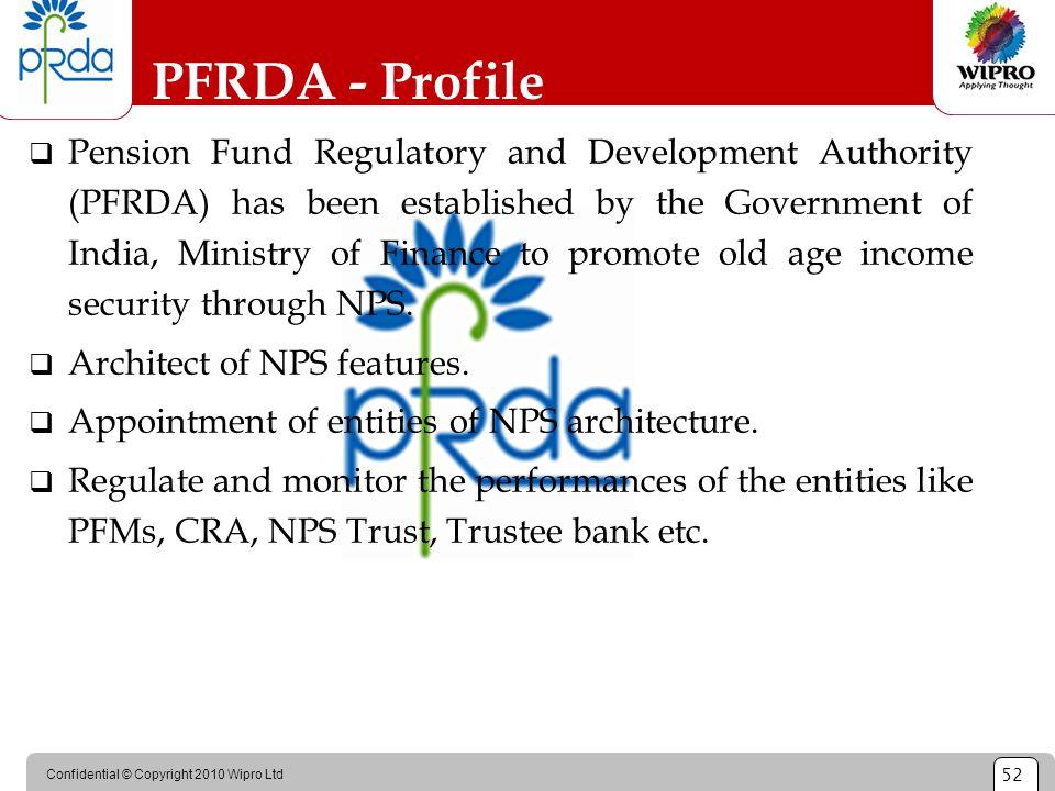 PFRDA - Profile