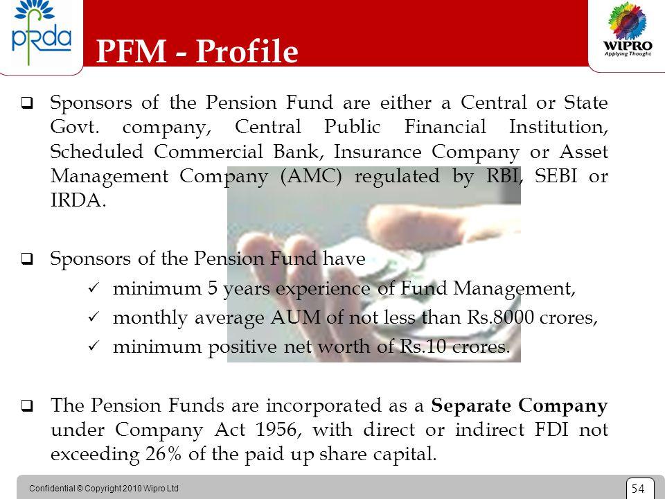 PFM - Profile