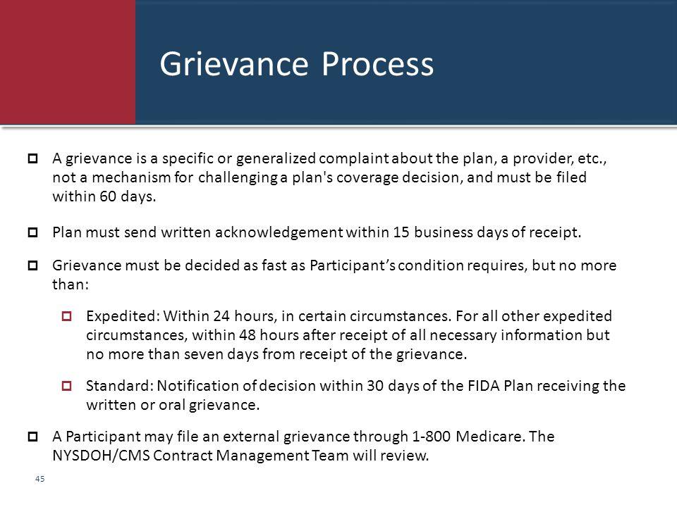 Grievance Process
