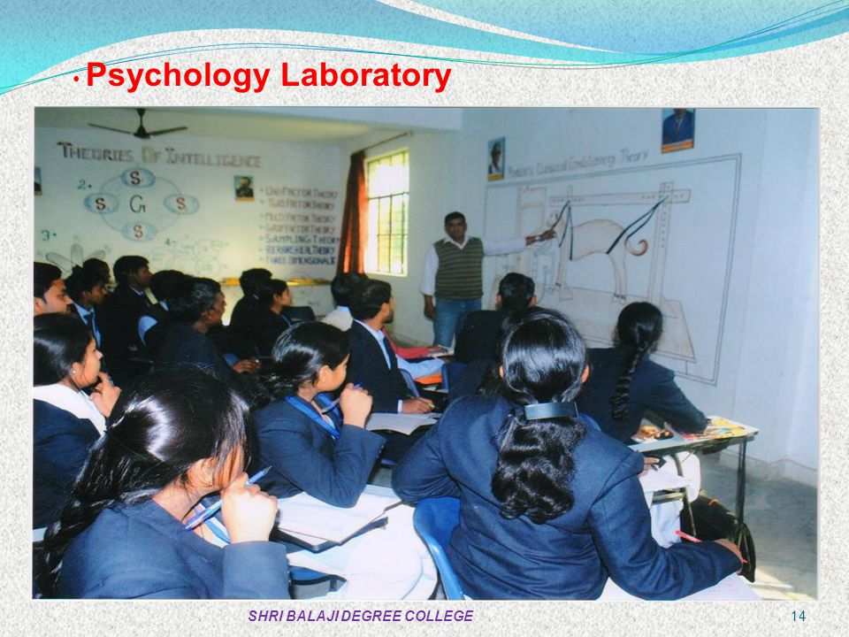 Psychology Laboratory