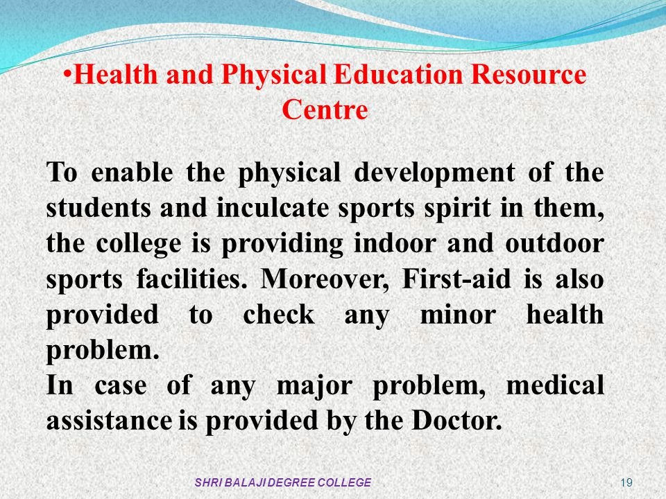 Health and Physical Education Resource Centre