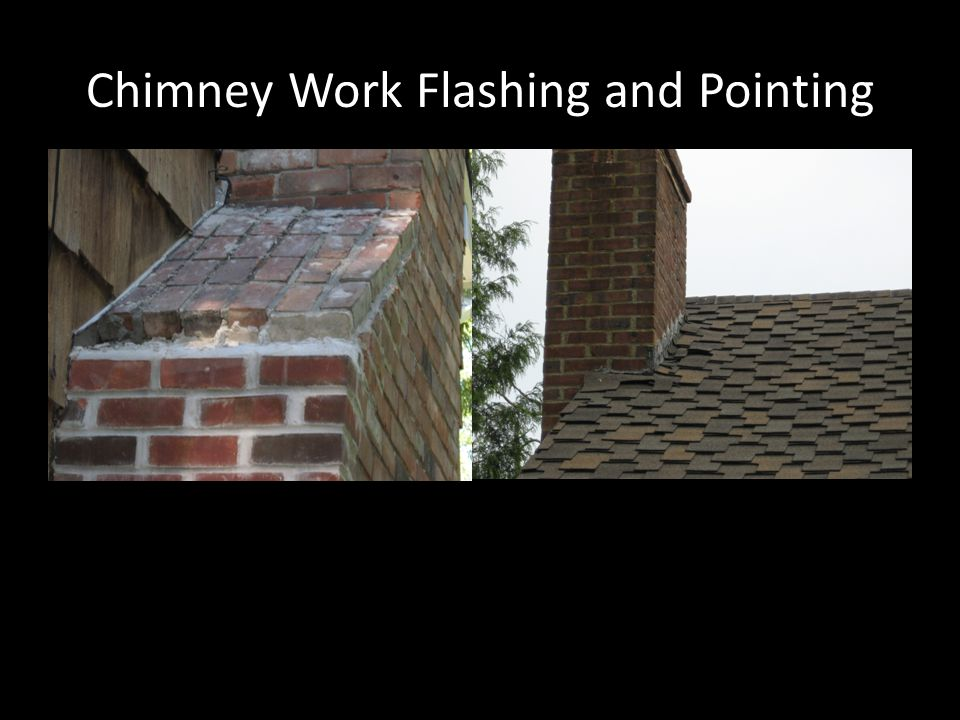 Chimney Work Flashing and Pointing