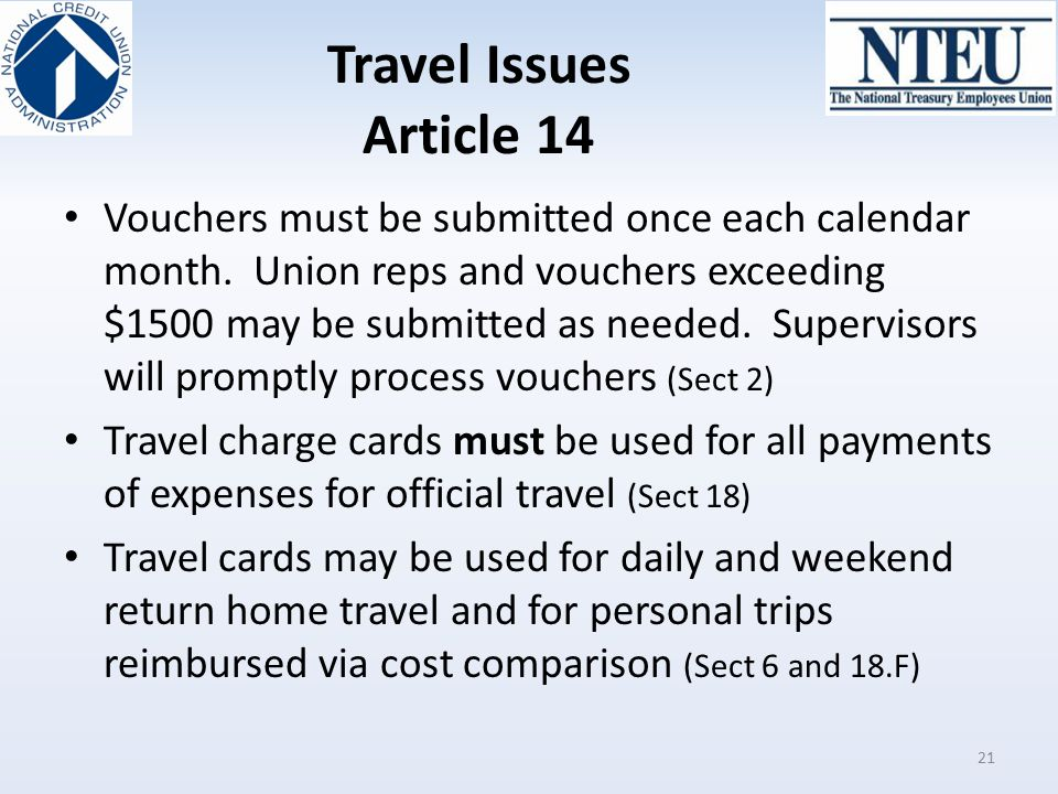 Travel Issues Article 14