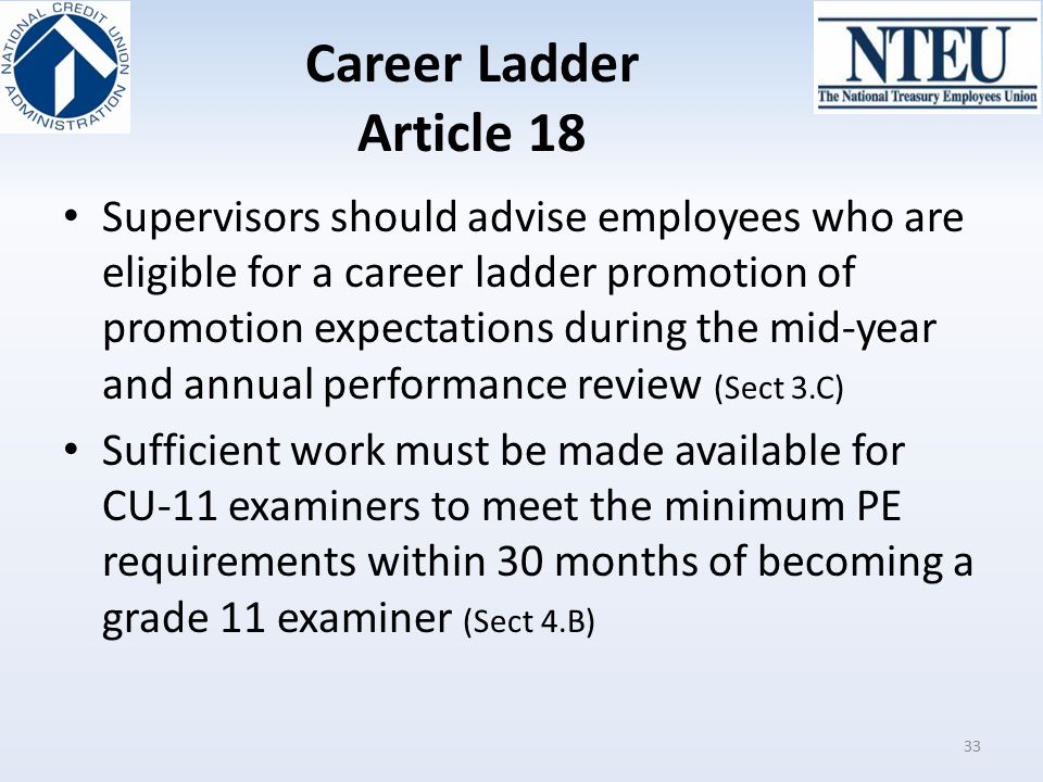 Career Ladder Article 18