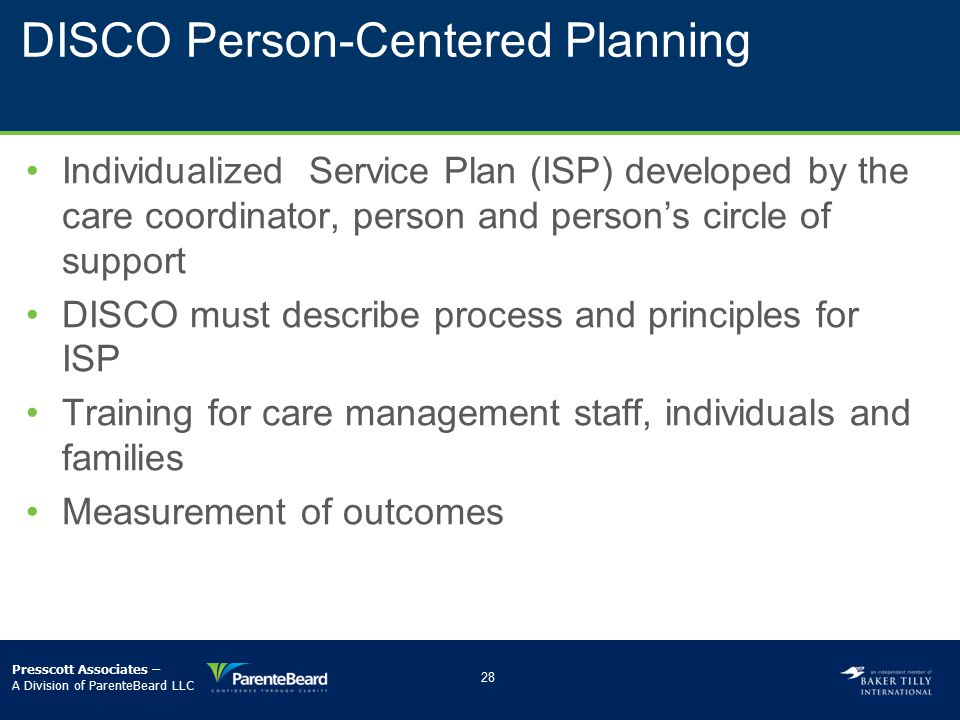 DISCO Person-Centered Planning