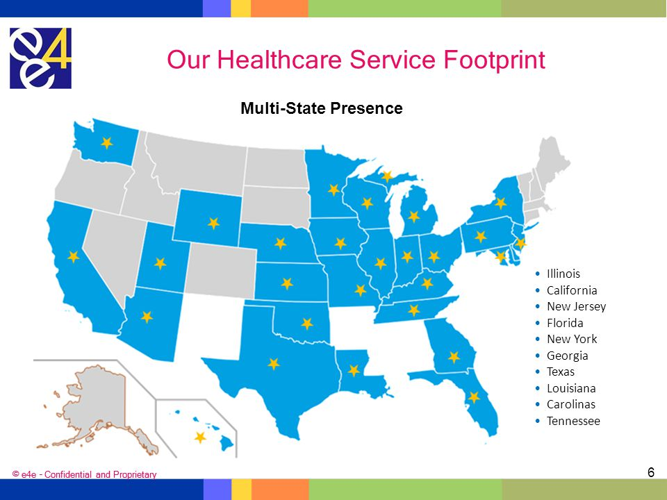 Our Healthcare Service Footprint