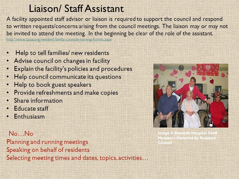 Liaison/ Staff Assistant