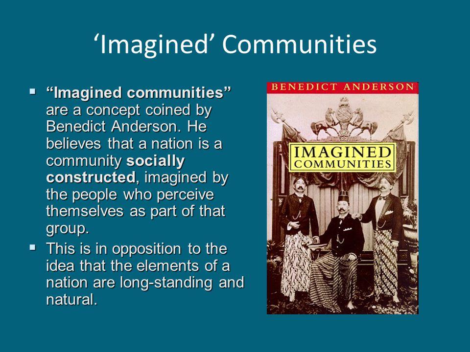 'Imagined' Communities