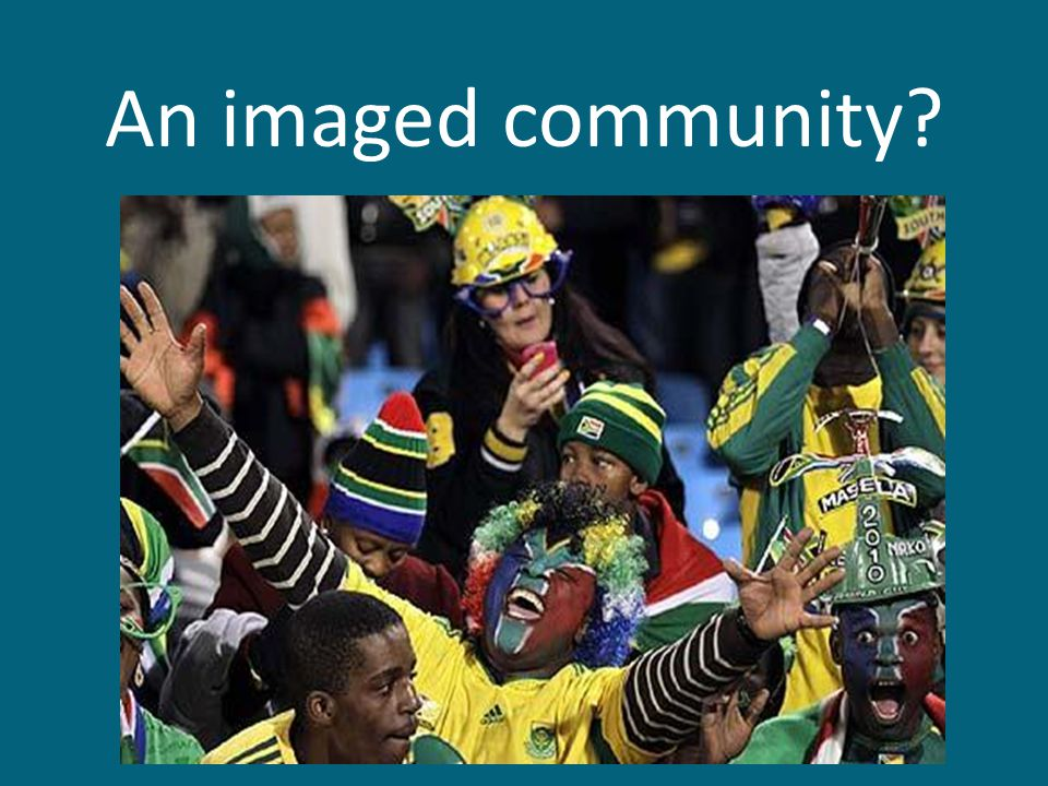 An imaged community