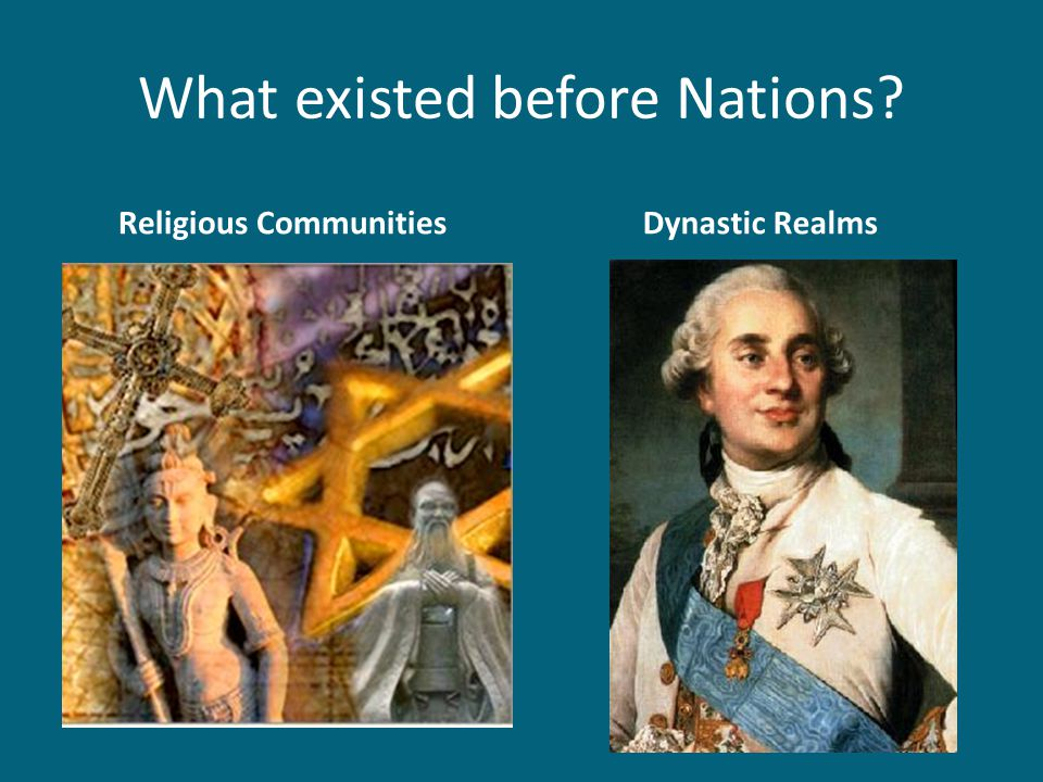What existed before Nations