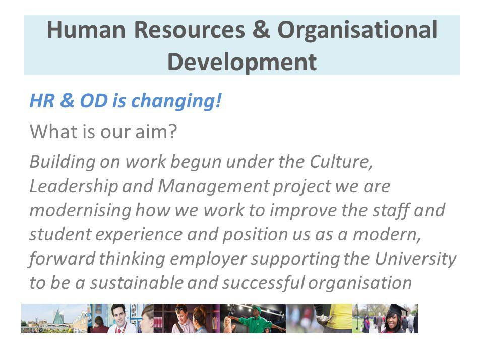 Human Resources & Organisational Development