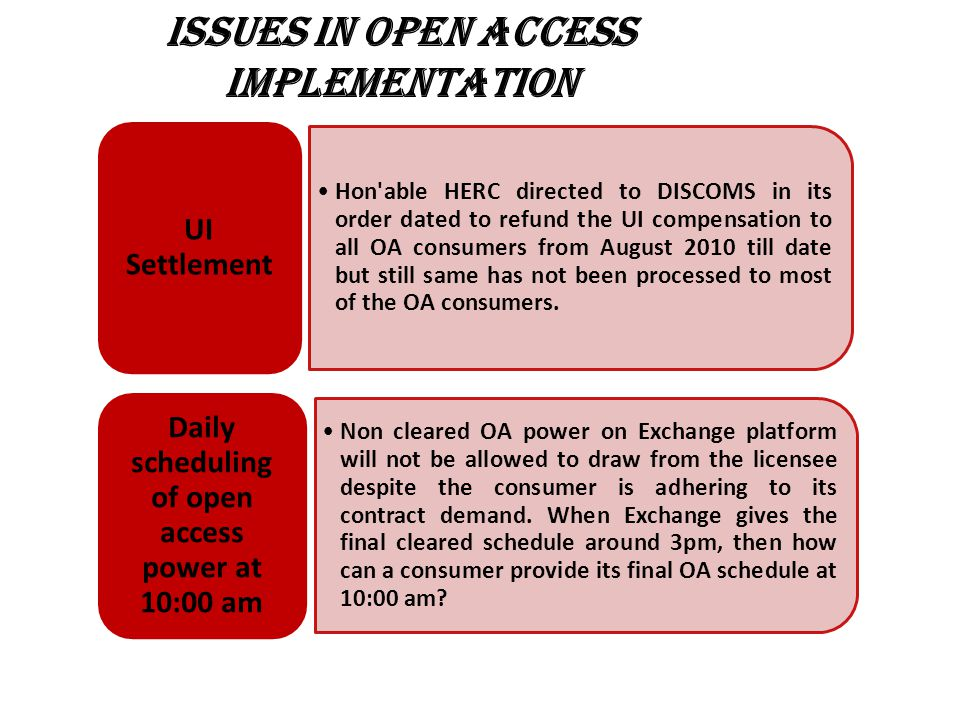 ISSUES IN OPEN ACCESS IMPLEMENTATION