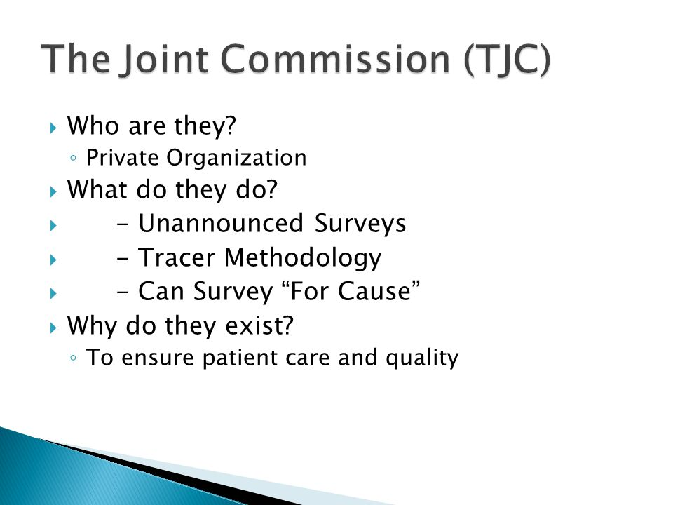 The Joint Commission (TJC)