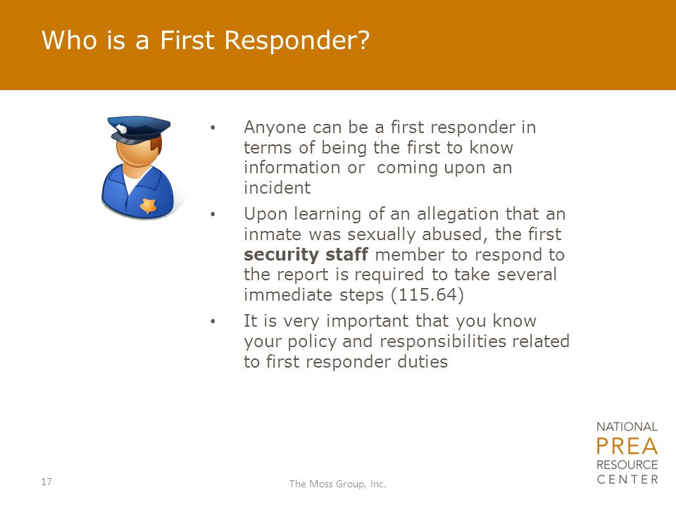 Who is a First Responder