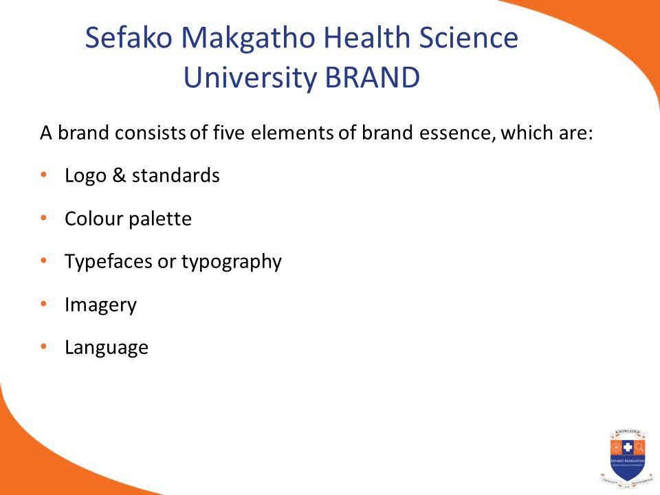 Sefako Makgatho Health Science University BRAND