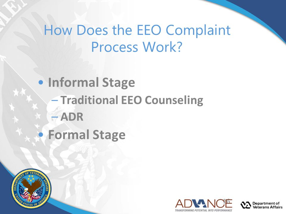 How Does the EEO Complaint Process Work