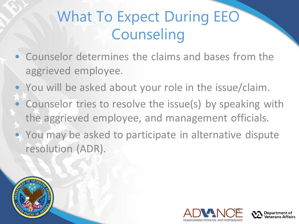 What To Expect During EEO Counseling