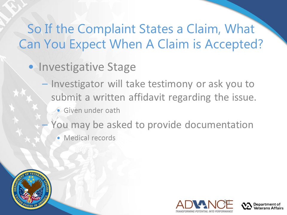 So If the Complaint States a Claim, What Can You Expect When A Claim is Accepted