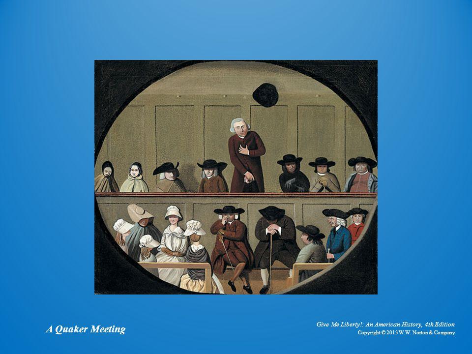 A Quaker Meeting A Quaker Meeting