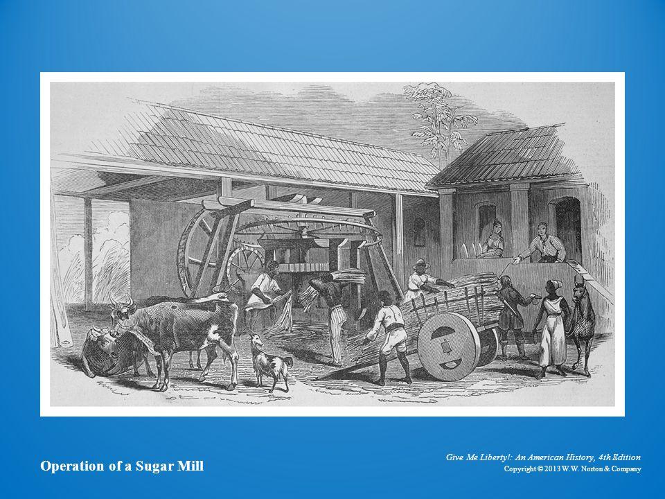 A Sugar Mill Operation of a Sugar Mill
