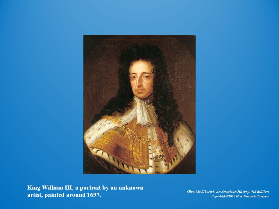 King William III King William III, a portrait by an unknown