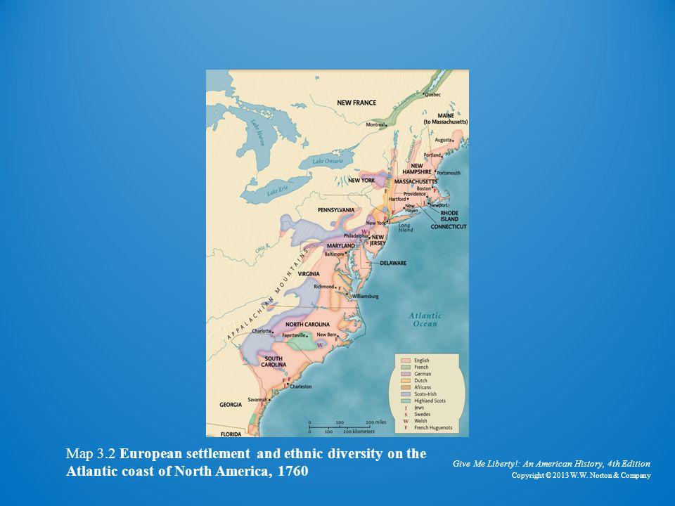 European Settlement on the Atlantic Coast