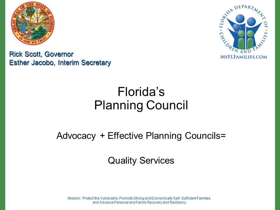 Florida's Planning Council