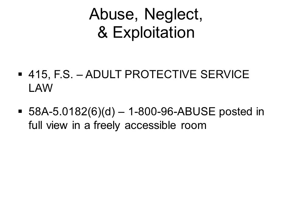 Delirium This Adult protection law consider, that