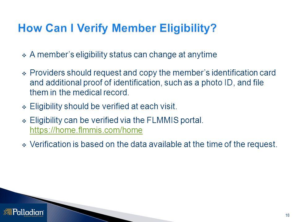 How Can I Verify Member Eligibility
