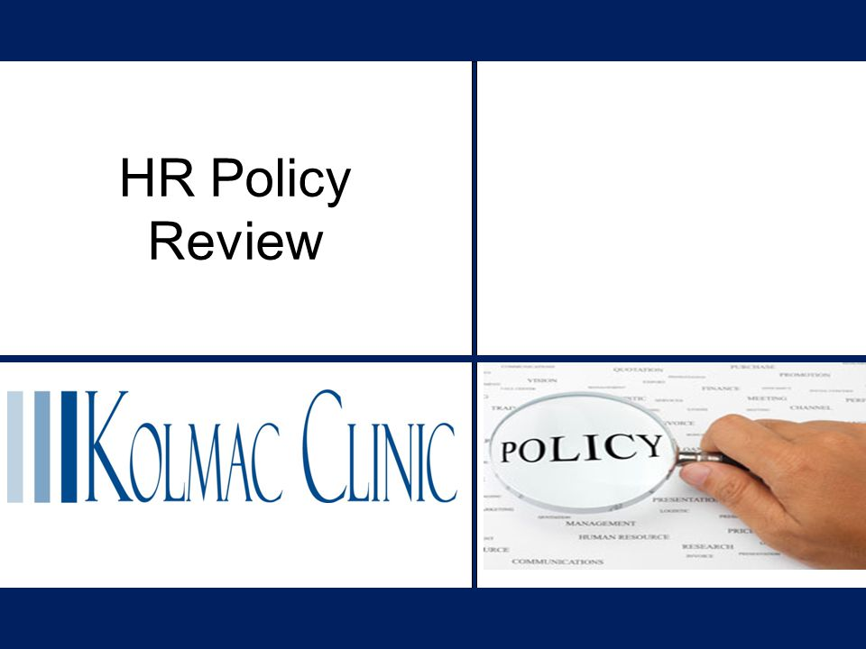 HR Policy Review