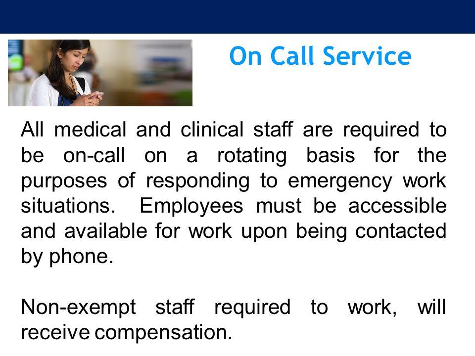 On Call Service