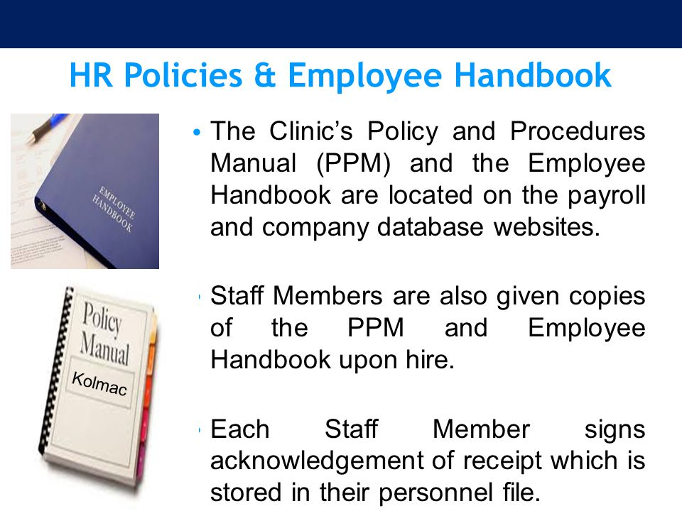 HR Policies & Employee Handbook