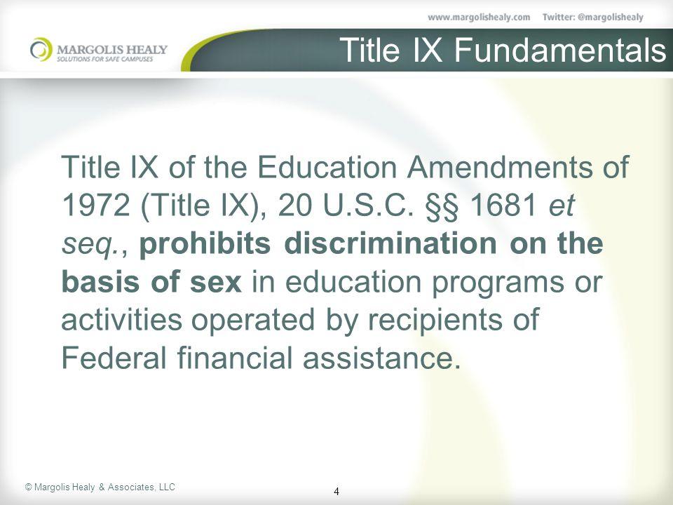 Title IX Fundamentals