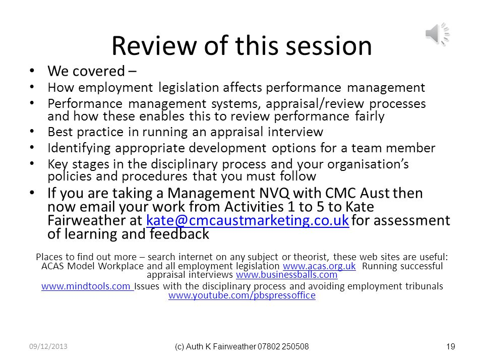 Review of this session We covered –
