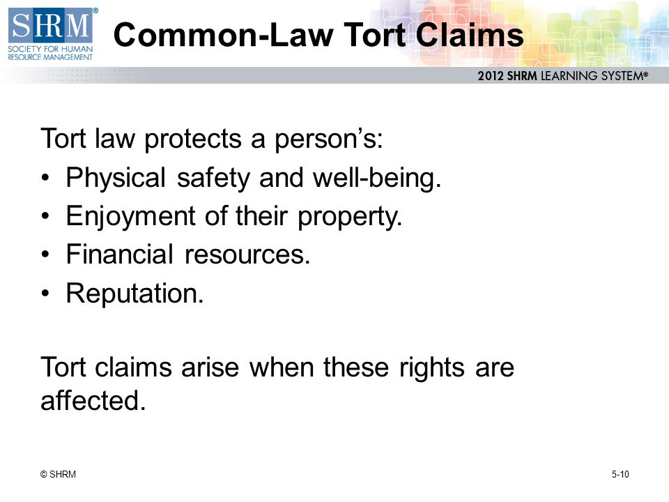 Common-Law Tort Claims