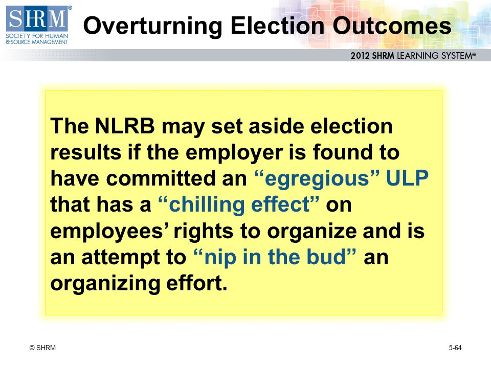 Overturning Election Outcomes