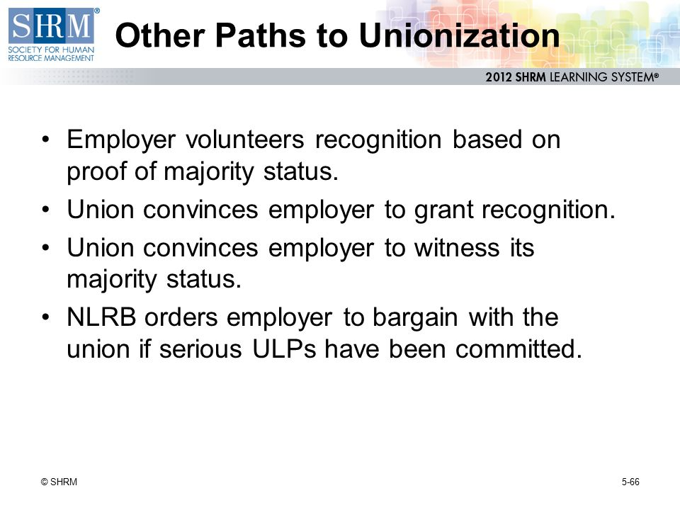 Other Paths to Unionization