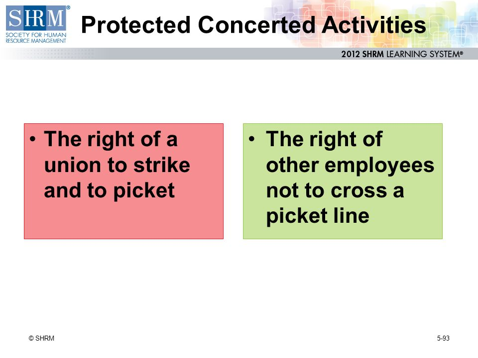 Protected Concerted Activities