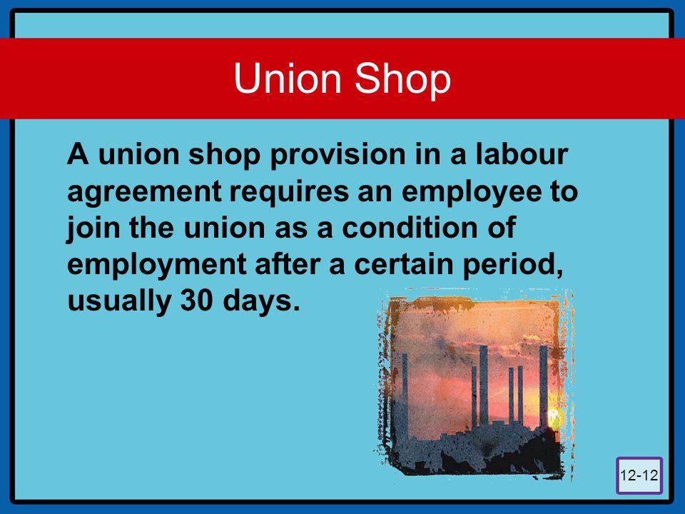 Union Shop