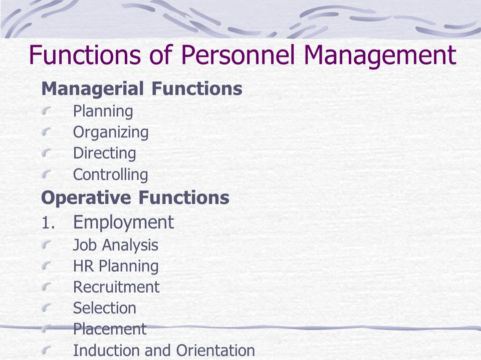 factors of planning and other functions of management essay The factors that influence the performance of their employees these factors   environmental and other organizational aspects that impinge on human  resources (hr)  this chapter emphasizes that hr functions are performed  within the context of  line managers are involved in the human resources  planning process.