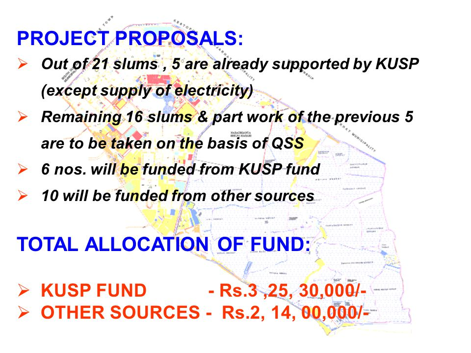 TOTAL ALLOCATION OF FUND:
