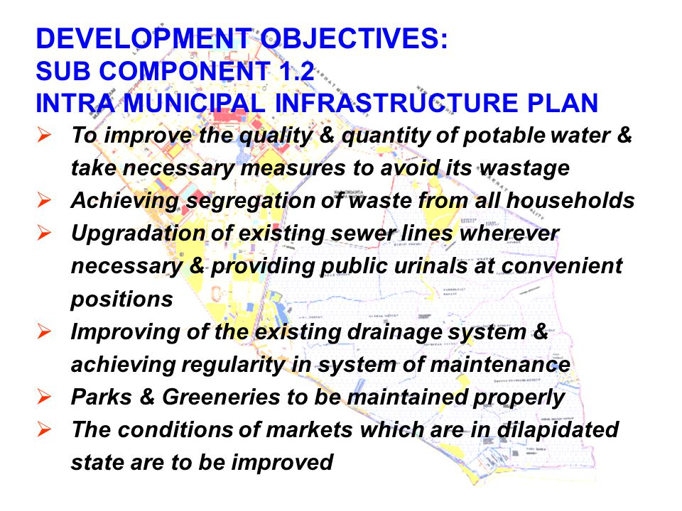 DEVELOPMENT OBJECTIVES: