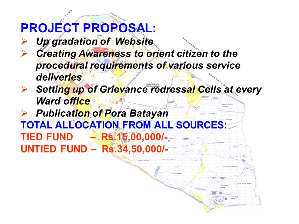 PROJECT PROPOSAL: Up gradation of Website